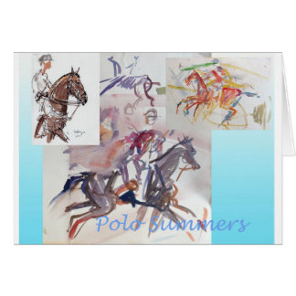Polo blank greeting card w/ envelope
