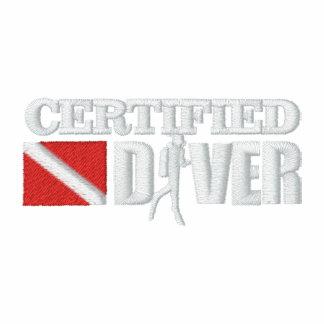 Polo bordado buceador certificado