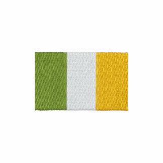 Polo bordado de la bandera de Irlanda del irlandés