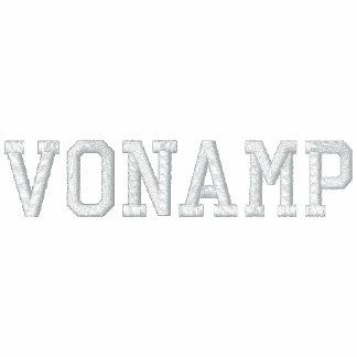 """Polo bordado de """"VonAmp"""" de los hombres"""