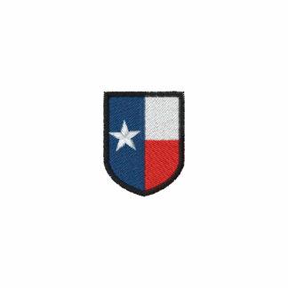 Polo bordado escudo de Tejas
