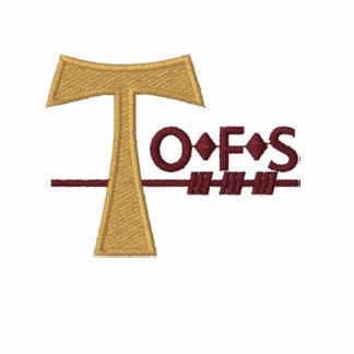 Polo bordado franciscano secular de OFS