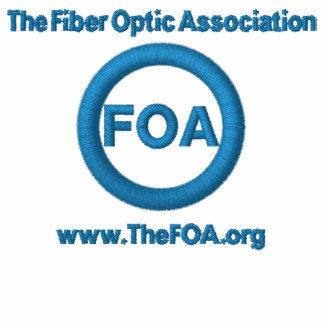 Polo bordado logotipo de la FOA