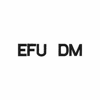 Polo bordado personalizado de EFU DM