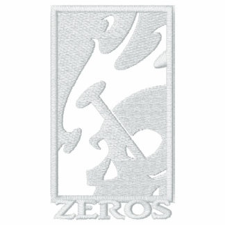 Polo bordado personalizado de los ceros