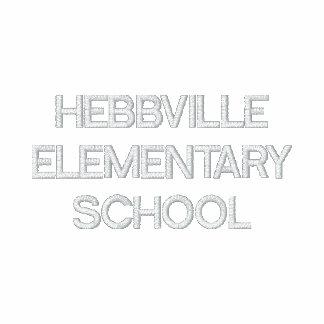 Polo bordado personalizado para Hebbville S elemen