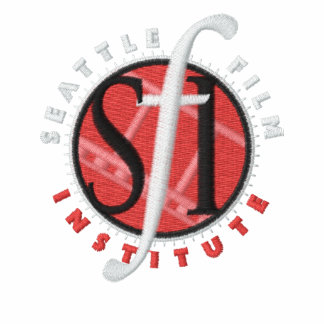 Polo bordado SFI de la oscuridad del logotipo