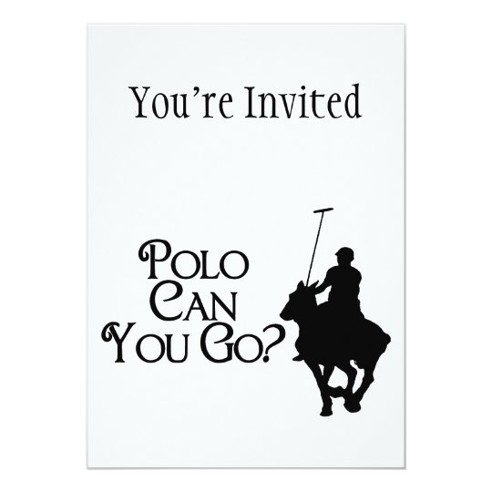Polo Can You Go Card