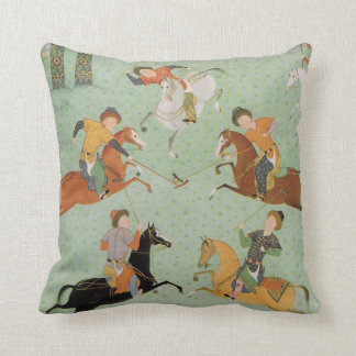 Polo / Chogan Throw Pillow