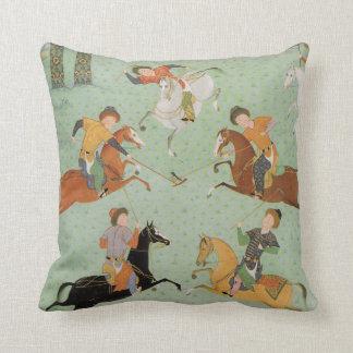 Polo / Chogan Throw Pillows