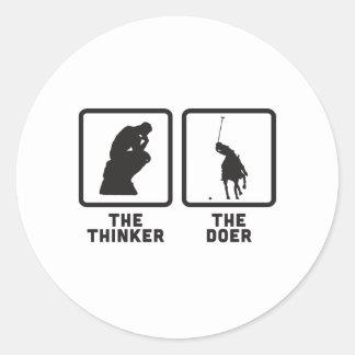 Polo Classic Round Sticker