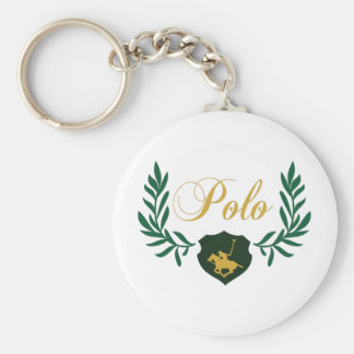 Polo Crest Key Chain
