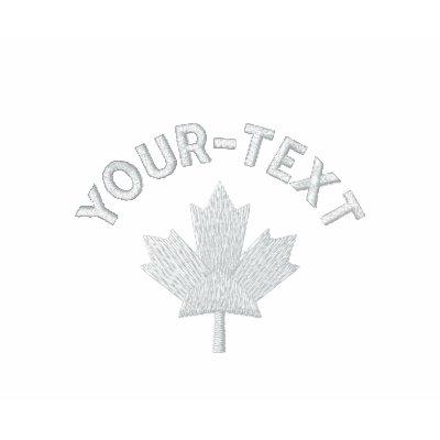 Polo de Canadá - arce canadiense blanco