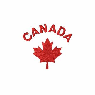 Polo de Canadá - camisa canadiense roja del arce