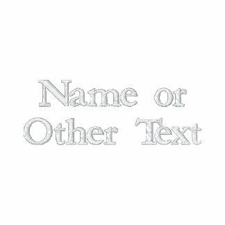 Polo de encargo del texto bordado - cree sus los p