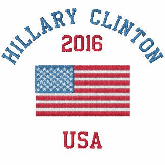 Polo de la bandera americana de Hillary Clinton