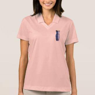 polo de la camisa del golf del vestido del oro