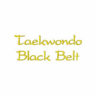 Polo de la correa negra del Taekwondo
