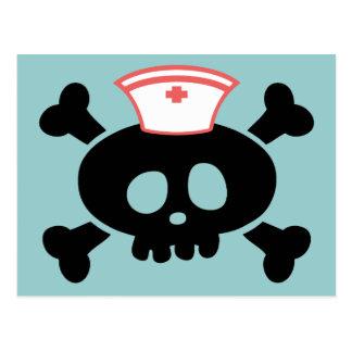 Polo de la enfermera tarjeta postal