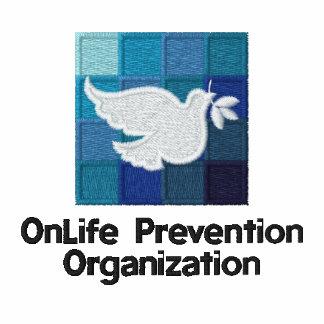 Polo de la prevención de OnLife - blanco