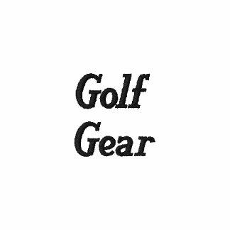 Polo del blanco del engranaje del golf