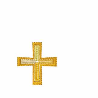 Polo del sacerdote con la cruz