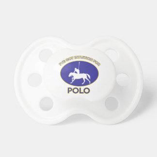 polo design pacifier