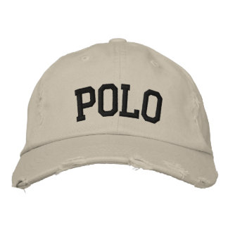 Polo Embroidered Hat