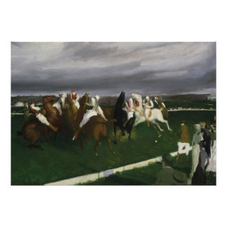 Polo en Lakewood - George Bellows Posters