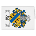 Polo Family Crest Greeting Cards