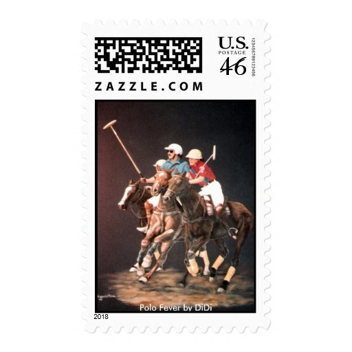 Polo Fever by DiDi Postage Stamps