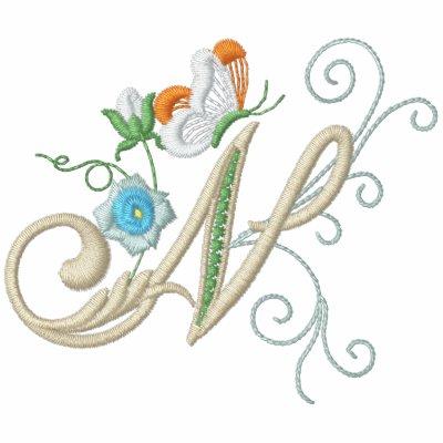 Polo floral de las señoras del bordado de la marip
