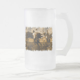 Polo Frosted Beer Mug
