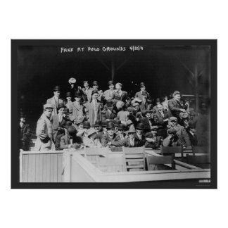 Polo Grounds Baseball Fans 1911 Posters
