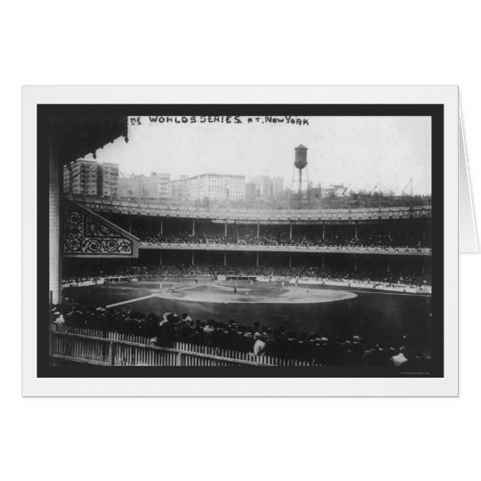 Polo Grounds Series Baseball 1913 Card