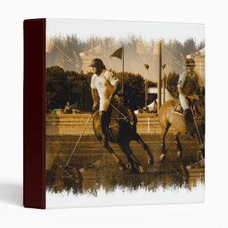 Polo Horse Binder