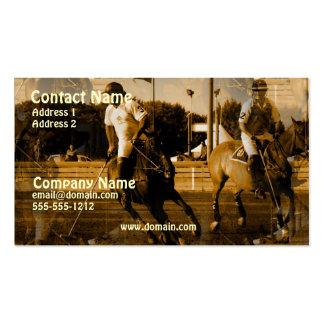 Polo Horse Business Card