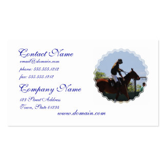 Polo Horse Double-Sided Standard Business Cards (Pack Of 100)