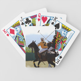 Polo Horse Match Deck of Cards
