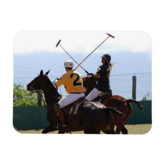Polo Horse Match Flexible Magnet