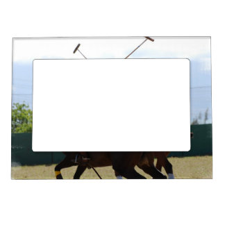 Polo Horse Match Magnetic Frame