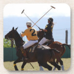 Polo Horse Match Set of Six Coasters