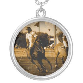 Polo Horse Necklace
