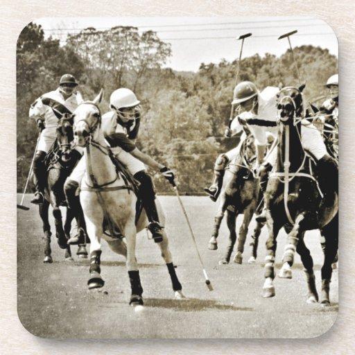 Polo Horses Galloping Coaster