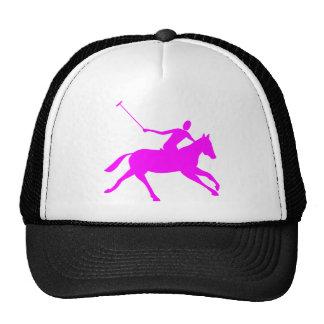 Polo - Magenta Trucker Hat