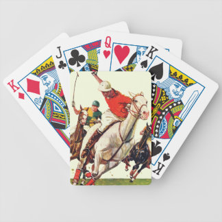 Polo Match Bicycle Playing Cards