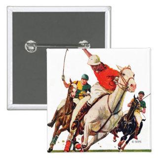 Polo Match Pinback Button
