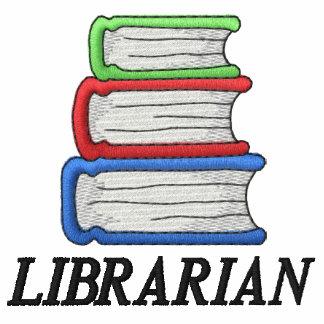 Polo para hombre del bibliotecario