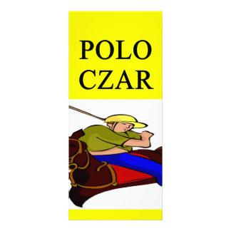 POLO player joke Custom Rack Card