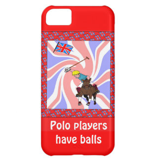 Polo players have balls iPhone 5C covers